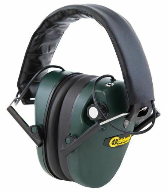 Caldwell E-Max Electronic Hearing Protection Low-Profile Ear Muffs - 487557