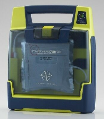 Cardiac Science Powerheart G3 Semi-auto Aed - Biomed Certified - Warranty