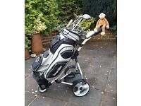 PRO RIDER electric golf trolley, including new battery