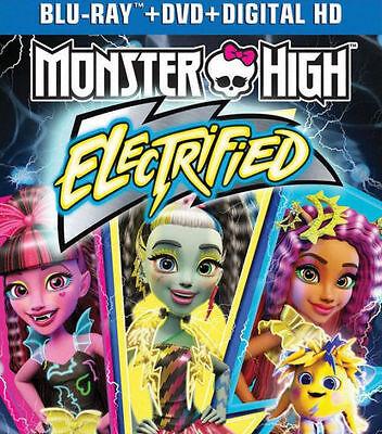 PRE  ORDER: MONSTER HIGH: ELECTRIFIED - BLU RAY - Region - Monster High Movie Order