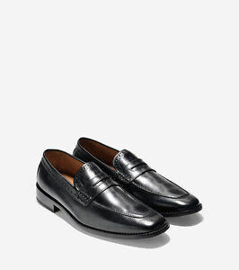 Cole Haan-Giraldo Lx Penny Loafer-Size 10 Color Black