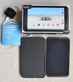 Hudl 2 tablet (slate black) in excellent condition