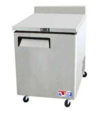 Uswt-28 Us Refrigeration 28 1 Door Worktop Refrigerator
