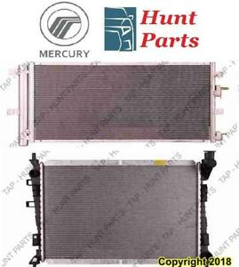 All Mercury AC compressor Condenser Radiator Support Fan Cooling Compresseur AC Condenseur Radiateur Support Ventilateur