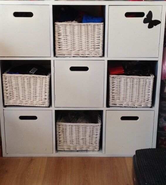 Ikea Kallax Cube Storage Shelving Unit Bedroom Living Room Crafts In Portsmouth Hampshire