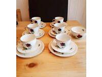 Alfred meakin Teacup Trios Afternoon tea set