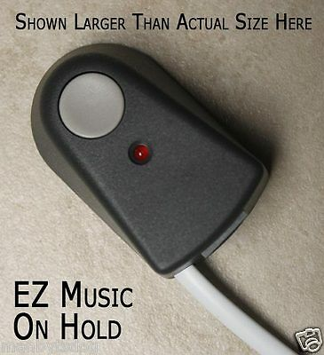 EZ Music on Hold Player - Easy Hookup, powered by your phone line - US Shipper!