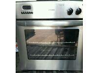 Built in oven.