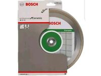 Bosch Angle Grinder Diamond Cutting Disc Blade Standard for Ceramic 230 mm New