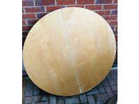 Ikea Bjursta round dining table