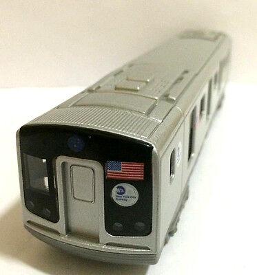 7 5  New York City Mta Subway E Train Diecast Car Model With Light   Sound