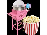 Popcorn Candy Floss Machines Hire - Self service Party / Event Services