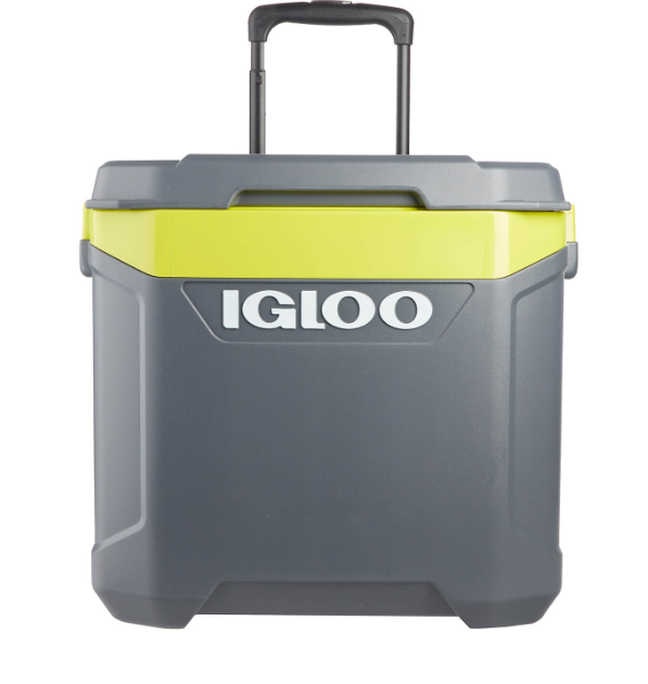 Igloo MaxCold Latitude 62 Quart Rolling Cooler w/ Telescopi