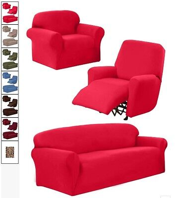 JERSEY STRETCH SLIPCOVER, COUCH COVER, FURNITURE SOFA ...