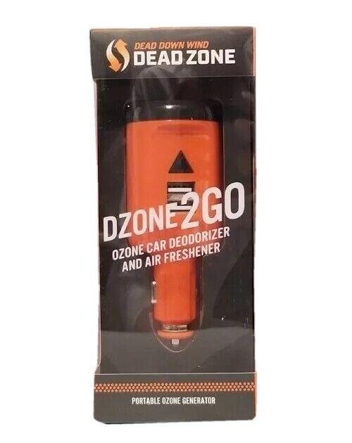 NEW DEAD DOWN WIND DZONE2GO CAR DEODORIZER AIR FRESHENER OZONE
