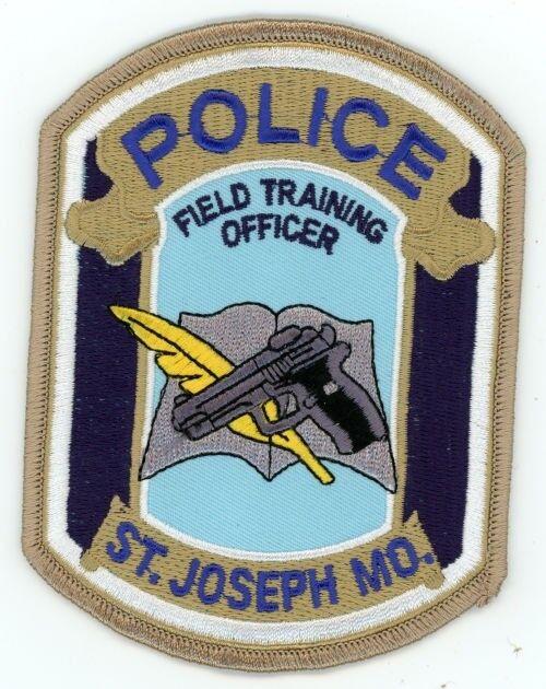 ST JOSEPH POLICE MISSOURI MO FIELD TRAINING OFFICER FTO PATCH SHERIFF
