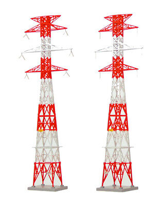 Tomytec (Komono 084-2) Electrical Tower A2 Red (Pylon) 1/150 N scale