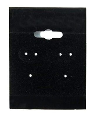 1000 Black Hanging Earring Cards 2h X 1 12w Jewelry Display With Lip