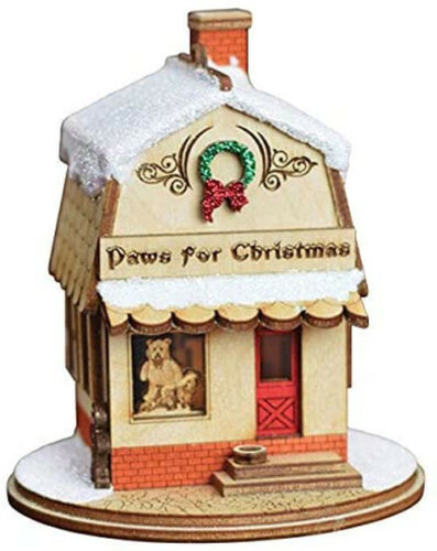 Ginger Cottage Paws For Christmas Petshop 80025