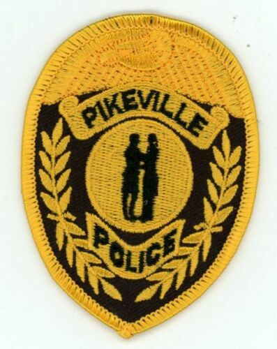 PIKEVILLE POLICE KENTUCKY KY NICE COLORFUL PATCH SHERIFF 3 1/4 INCHES