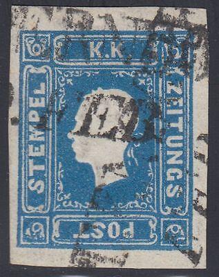 Österreich 1858 Michel Nr. 16 b Zeitungsmarke Langstempel Befund VÖB