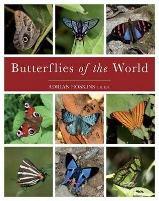 Butterflies of the World by Adrian Hoskins Hardcover Book (English)