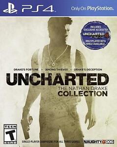 Trading PS4 Uncharted The Nathan Drake Collection