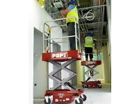 CHERRY PICKER / POP UP / SCISSOR LIFT ACCESS PLATFORM HIRE 3.6M