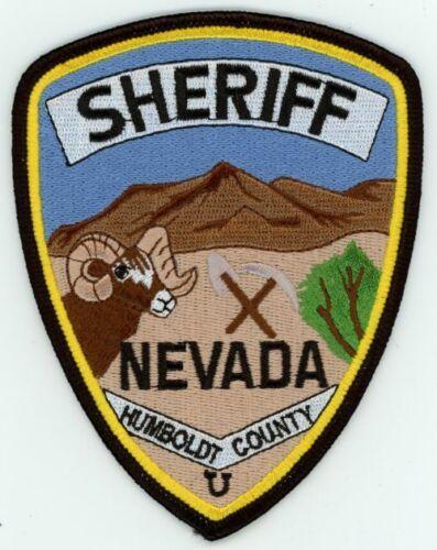 HUMBOLDT COUNTY SHERIFF NEVADA NV NICE COLORFUL PATCH POLICE
