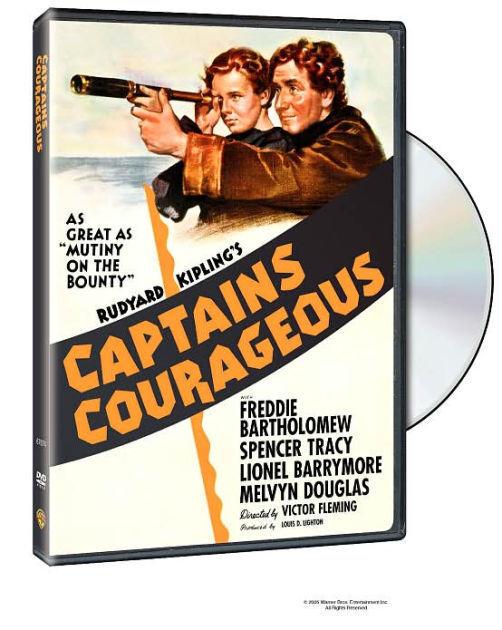 CAPTAINS COURAGEOUS (1937) / (FULL) - DVD - Region 1