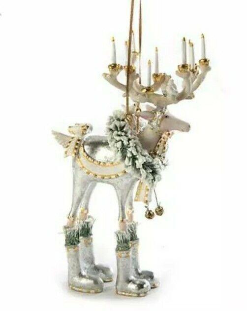 New Patience Brewster Moonbeam Dasher Reindeer LARGE Ornament Dash Away