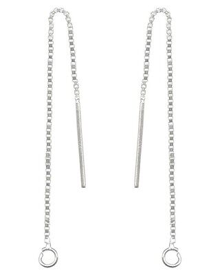 1 Pair 925 Sterling Silver 3