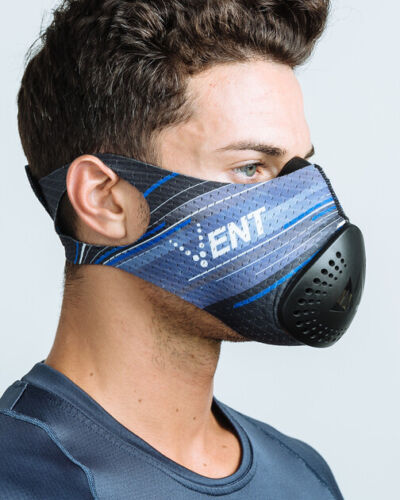 Training Mask VENT,ONYX BLACK VENT Filtration Trainer ONE SIZE FIT !!!