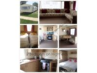2 bed cosy caravan to hire on highfields