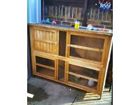 Rabbit, guinea pig etc hutch