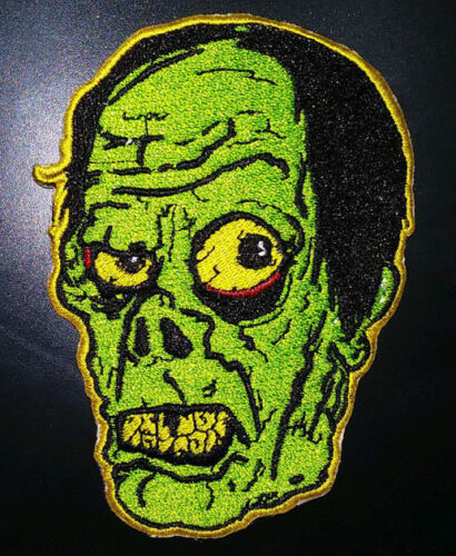 PATCH - The PHANTOM - Fully Embroidered, iron on Horror, Monster, Universal
