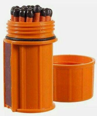 25ct UCO STORM PROOF MATCHES W/CASE 15 Sec. Burn Windproof Waterproof