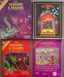 Looking for: Dungeons & Dragons and other RPG collections