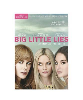 Big Little Lies: First Season 1 (DVD, 2017, 3-Disc box Set, )
