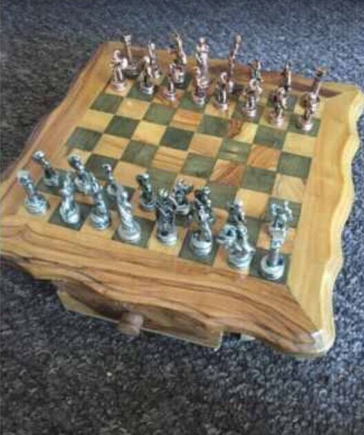 Solid Wood Chess Set