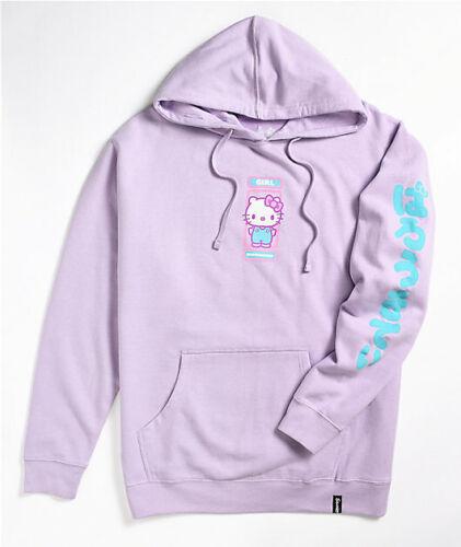 Girl Skateboards x Sanrio Hello Kitty Lavender Hooded Sweatshirt