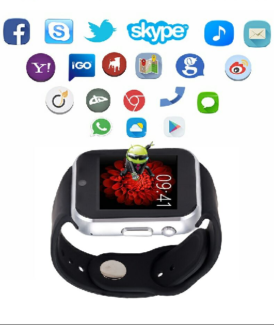 Brand New Unlocked 3G Android 4.4 OS WIFI Smart Watch Phone