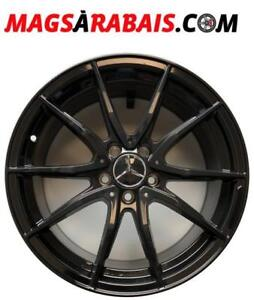 Mags 18'' Mercedes C43 C450 SANS SPACERS DIRECT FIT **PACKAGE AVEC PNEUS HIVER DISPO**