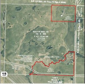 127 acres of Farm Land 10 minutes from Sexsmith