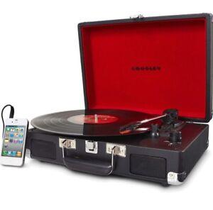 Crosley Radio Cruiser Portable Turntable, Black  cr8005a-bk