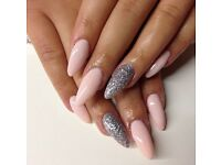 ACRYLIC NAILS £14 BOOK NOW!!