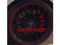 Alloy Wheel protection S3 RS3 AMG R32 GTI M3 M4 X5 ML TDI VXR ST RS CDTI Q7 Q3 FR Leon