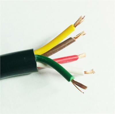 5 Core Colour Cable - Kit Car Cabling Connect Multi Core Flex Wire 8.75Amp Load