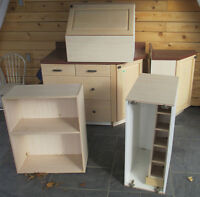 Kitchen Cabinets & Counters - Various - Free