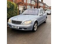 Mercedes S500 W220 S Class - Open To Offers